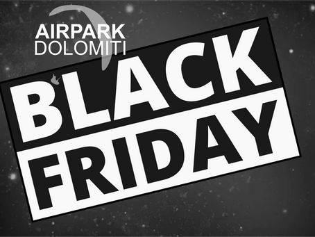 BLACK FRIDAY dal 23-29.novembre!