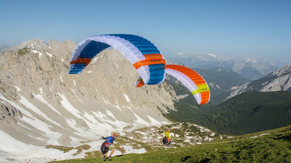 SET completo: Nova DOUBLESKIN - Hike&Fly package