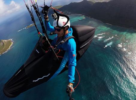 In volo con il MENTOR6 sopra Hawaii