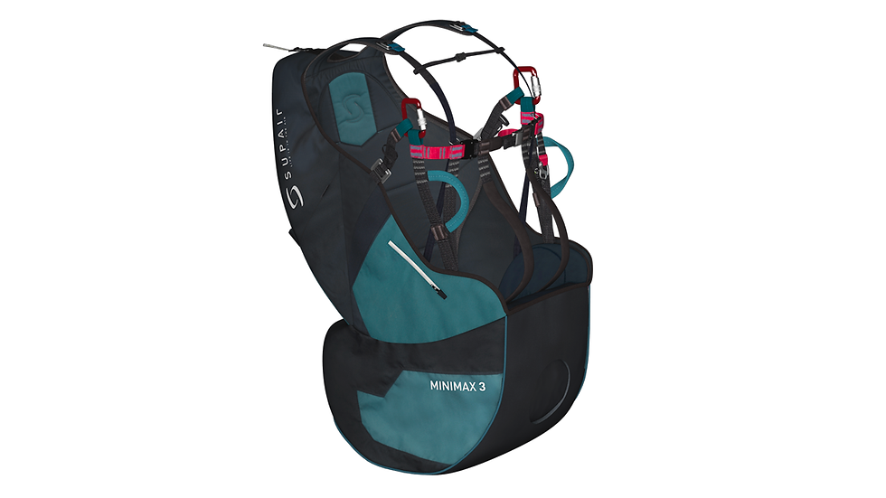 Supair MINIMAX3 - per il passeggero biposto