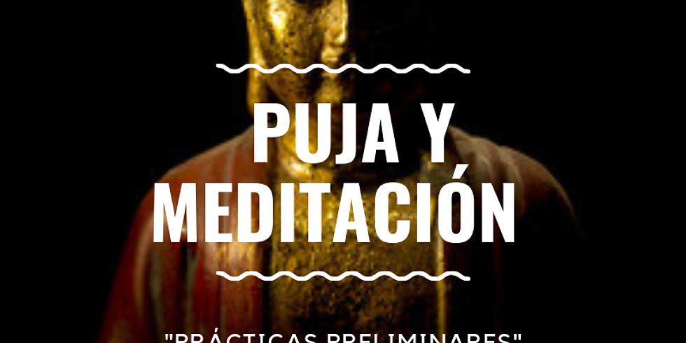 Puja y Meditación del Buda Sakyamuni