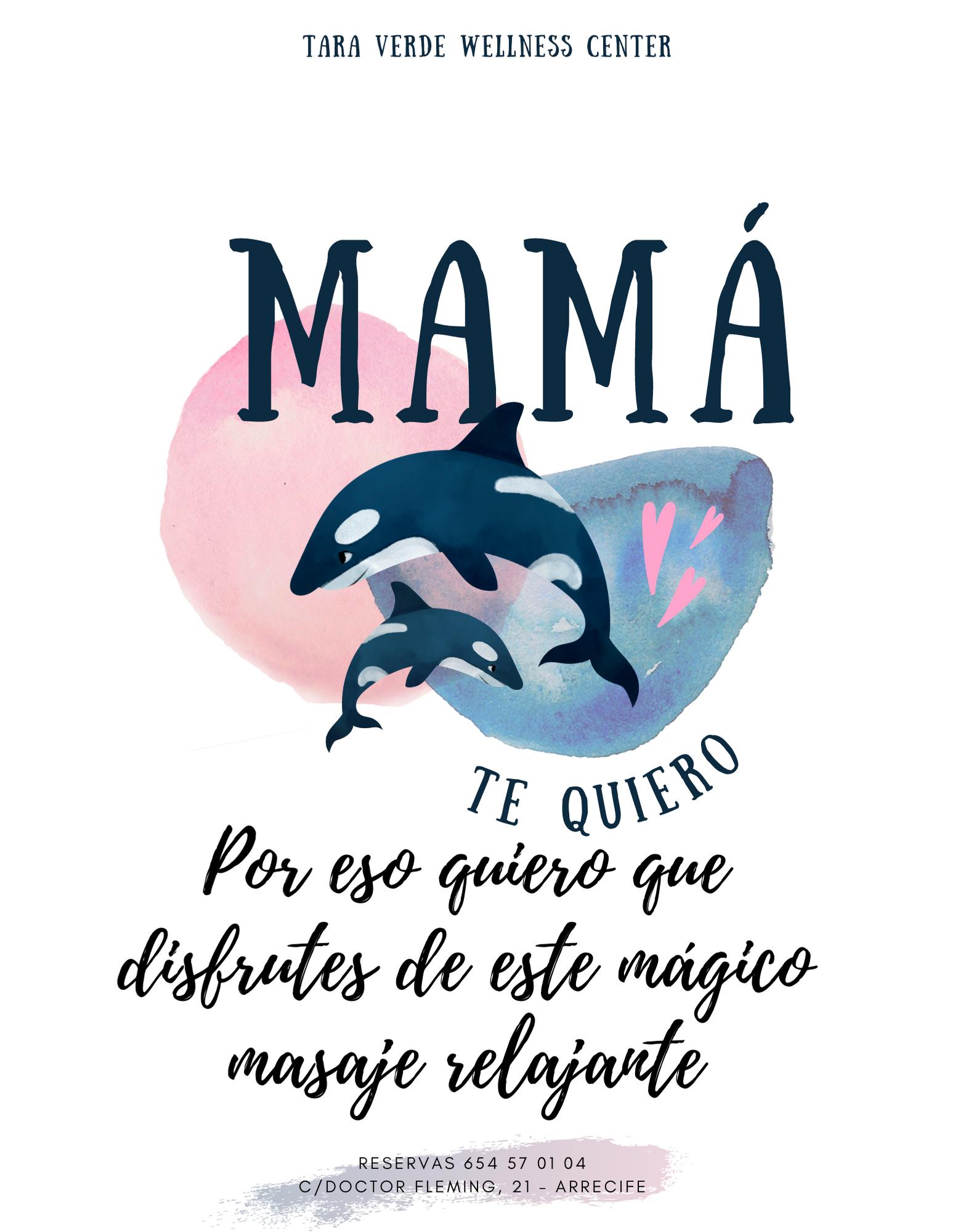 Masaje especial Día de la Madre