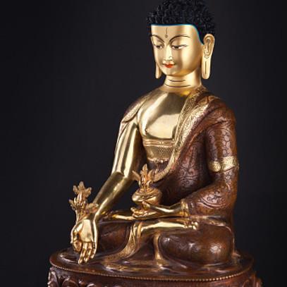 Taller de creación de estatuillas de Buda (Tsa-Tsas)
