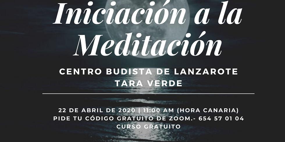 Curso de Iniciación a la Meditación
