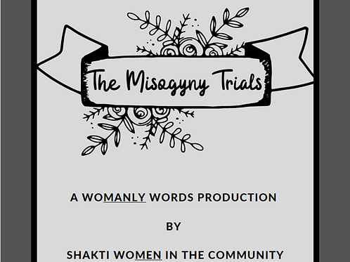 The Misogyny Trials: A book of play by and for women