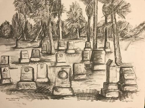 LA Cemetery-circa 1960