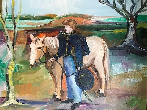 Old Pete the Cavalry Pony