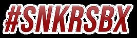 #SNKRSBX