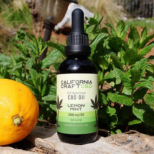 California Craft Lemon Lime 3000mg