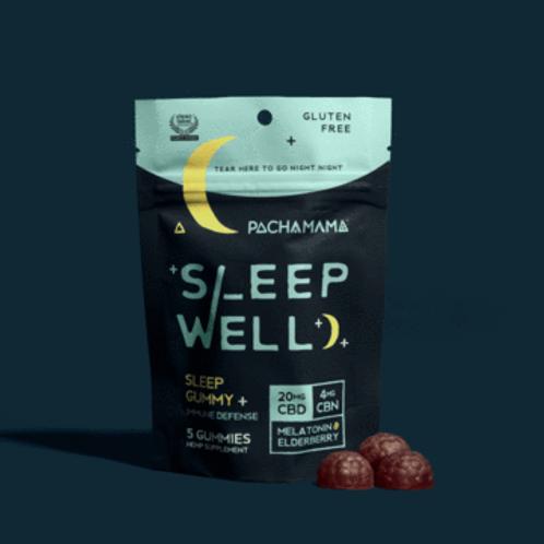 Pachamama Sleep Well Gummies 5 ct
