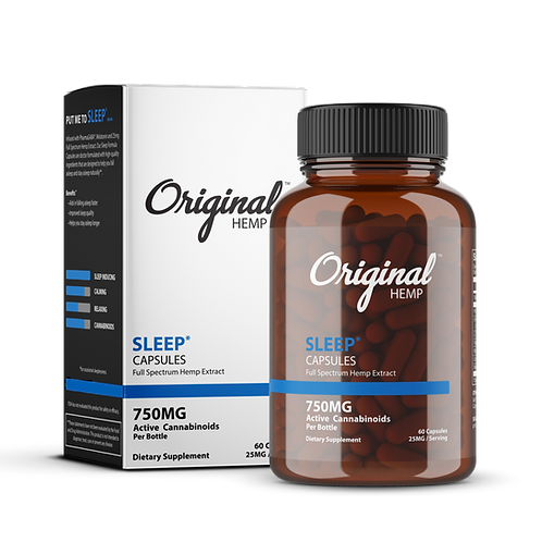 Original Hemp CBD Sleep Capsules 750mg