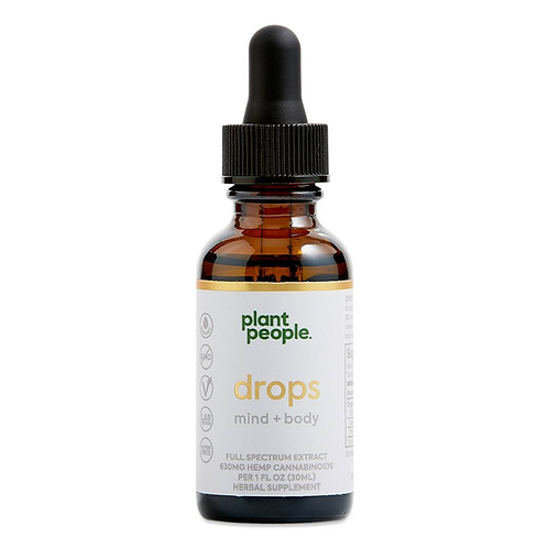 Plant People Mind & Body CBD 630mg