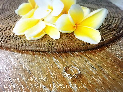 Infinity Ring ∞ アジャストタイプ(インフィニティ リング)ピンキー・トーリングにも☆