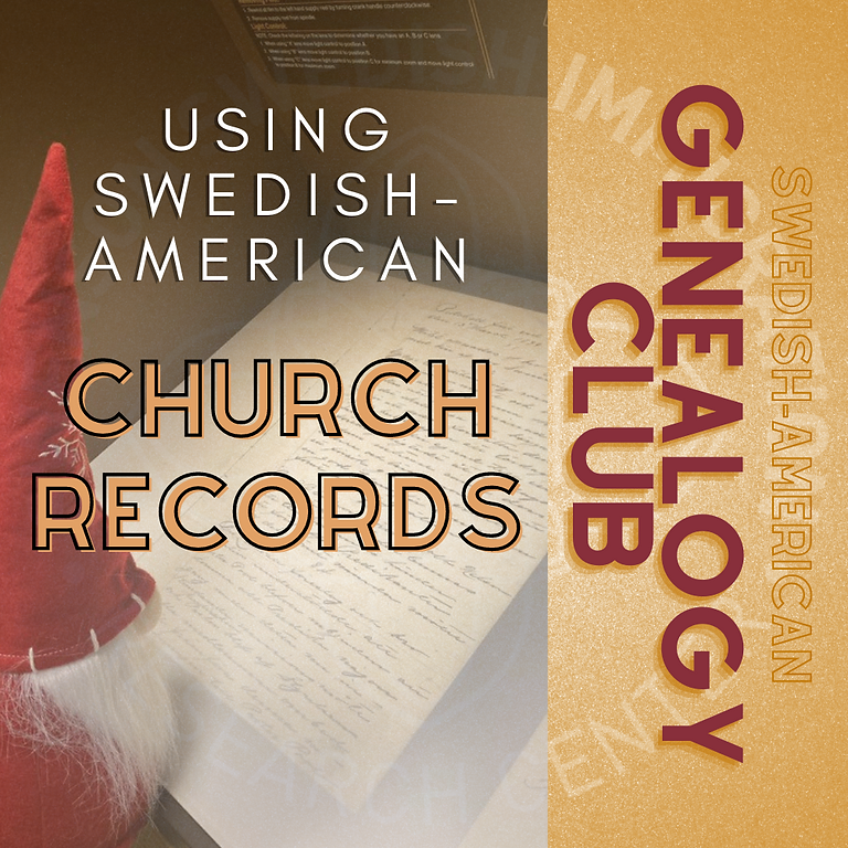 Genealogy Club, January