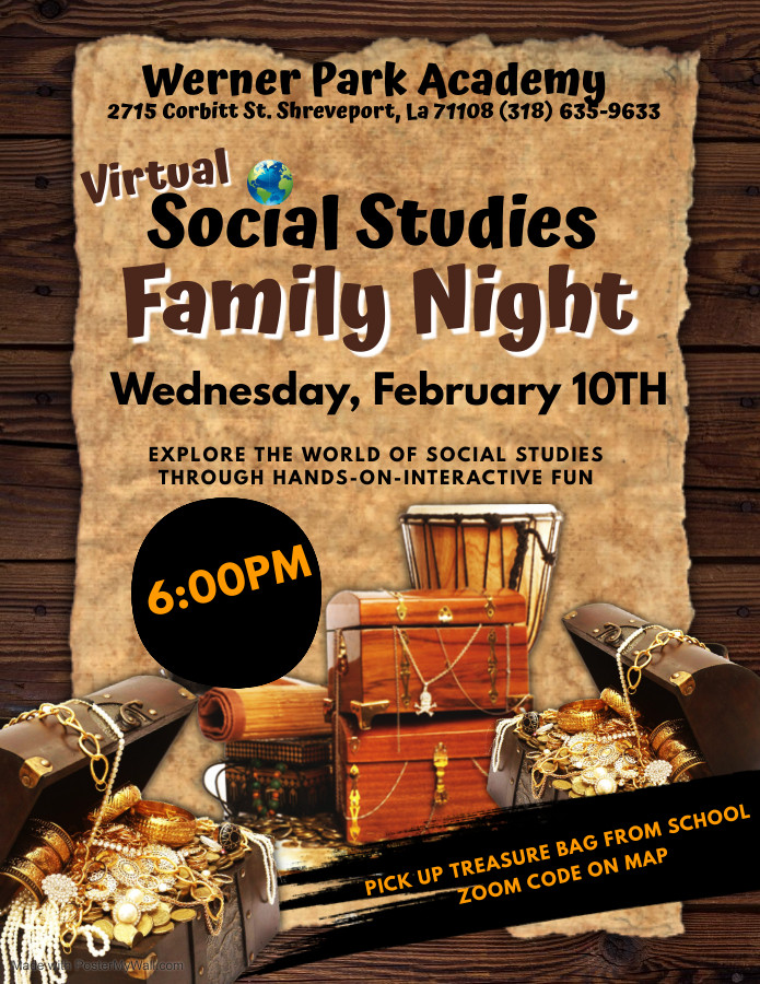 Social Studies Night - Made with PosterM