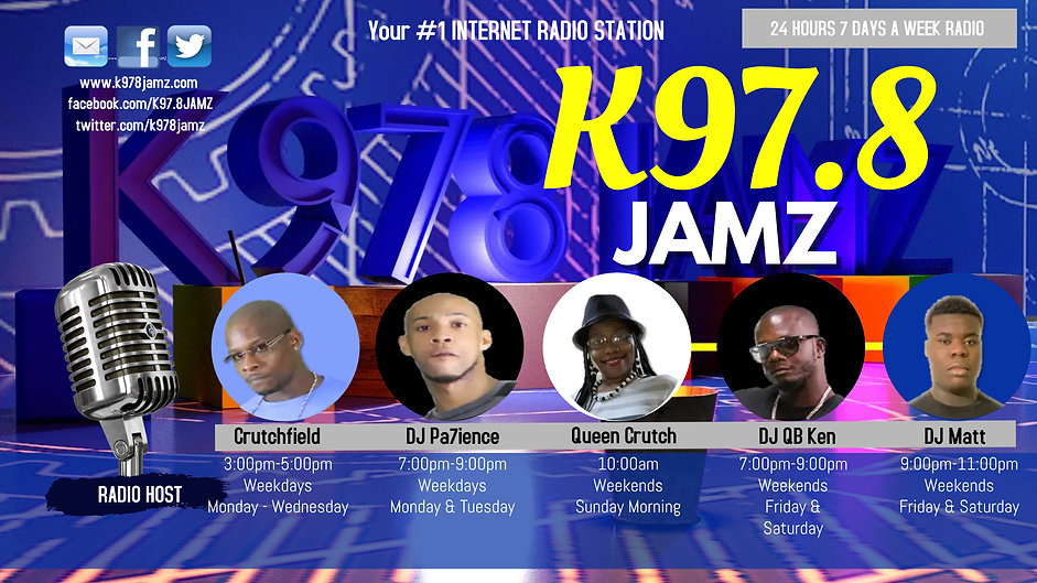 K978JAMZ Flyer 2021 - Made with PosterMy
