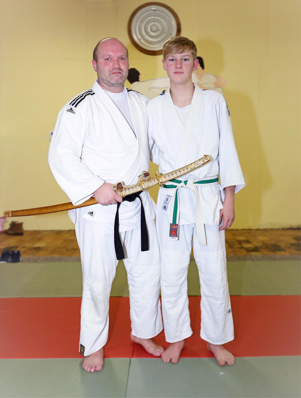 Kurt en zoon Kenley