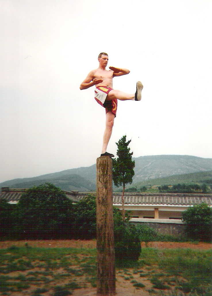 Marnic bij de Shaolin monniken in China