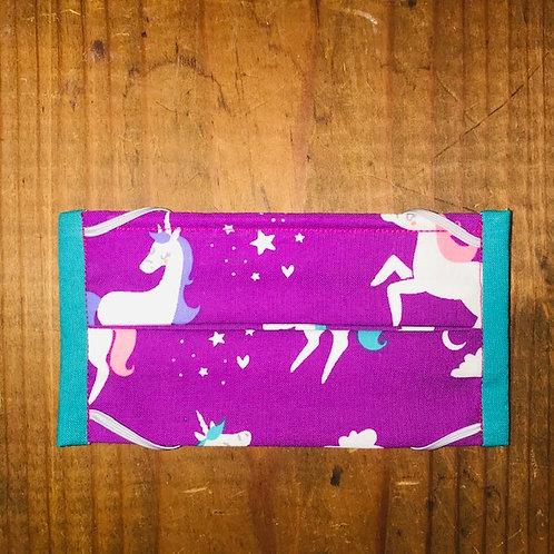 Unicorn Mask - Purple