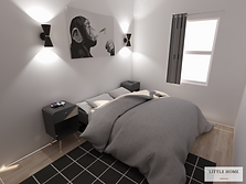 Dan's bedroom