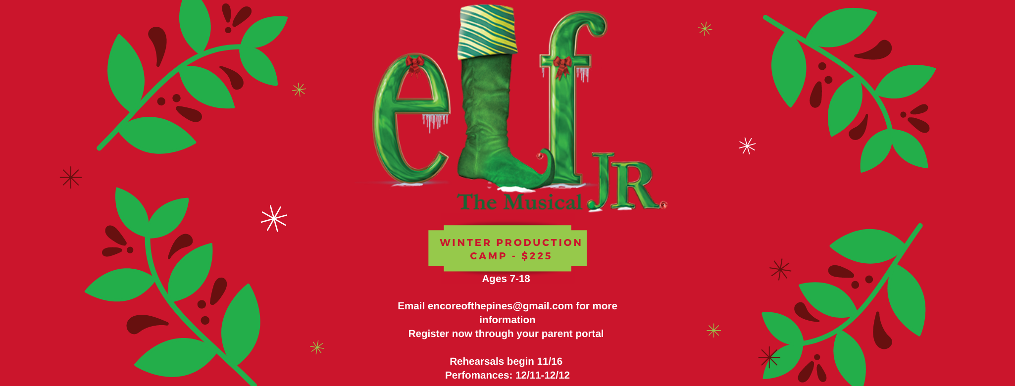 Copy of Elf Jr. Poster