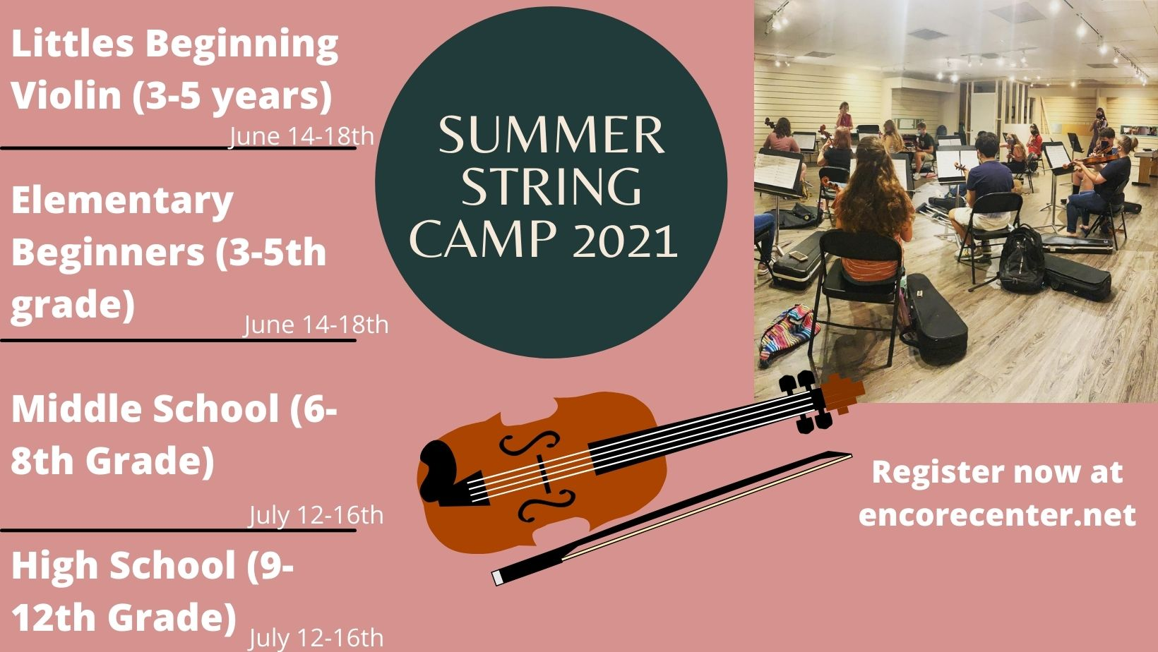 Strings camp cover