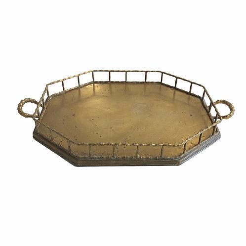 Large Brass Tray No. 9