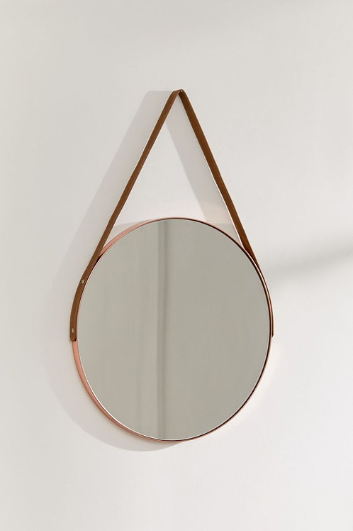 Copper Hanging Mirror