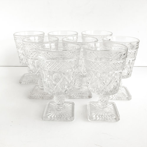 Clear Goblets #4 - Set of 8