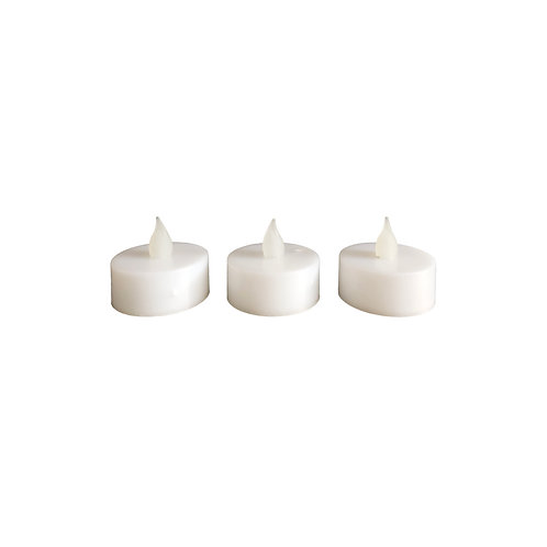 Faux Short Tealight - Set of 15