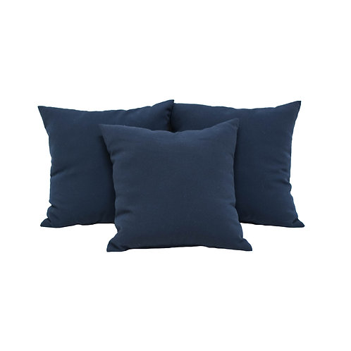 Navy Blue Pillows - Set of 2