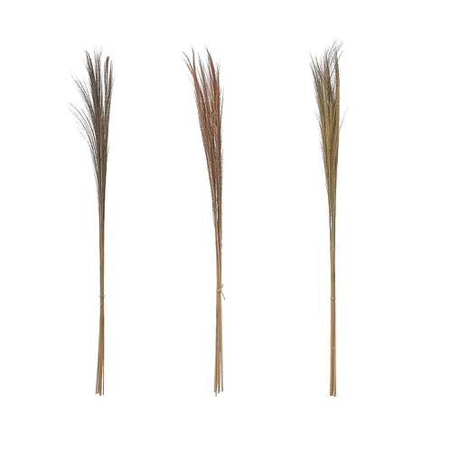 Feather Grass Bunches - Set of 3