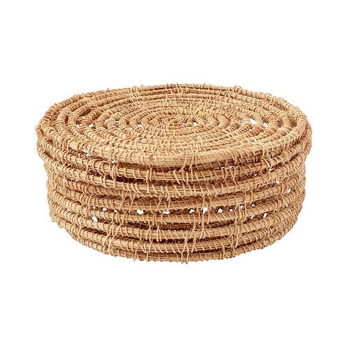 Woven Palm Box - Medium