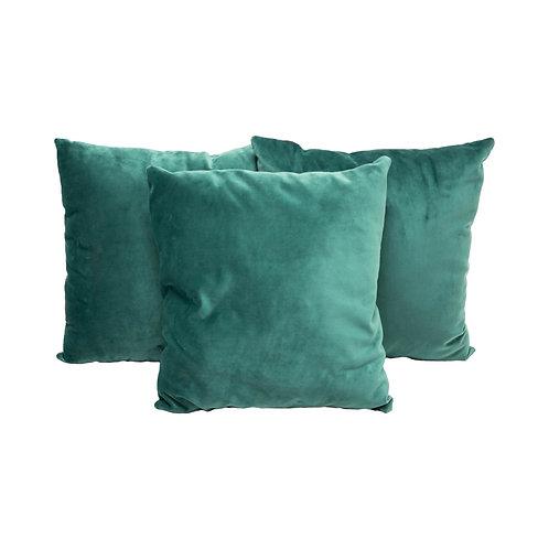 Seafoam Velvet Pillows - Set of 2