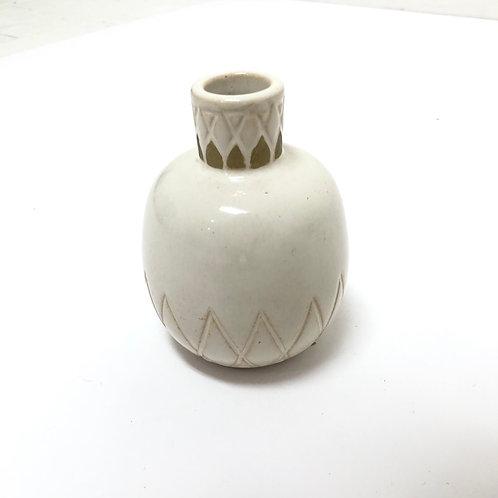 Neutral Ceramic Vessel No. 5