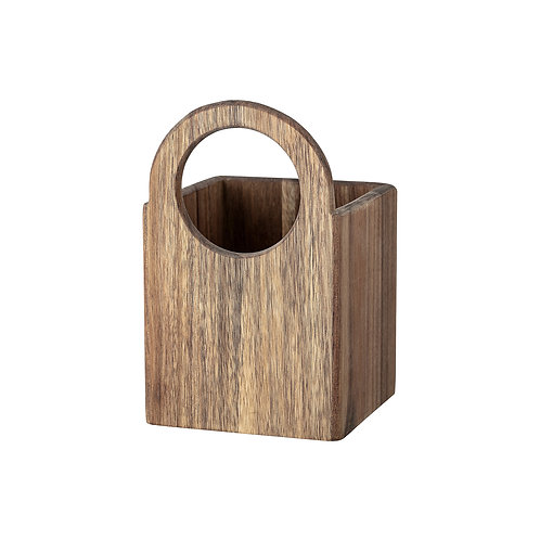 Acacia Wood Planter Container