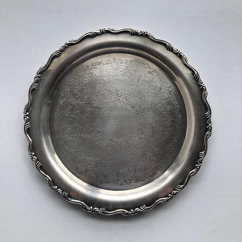 Silver Tray No. 10