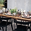 Thumbnail: Black Tribeca Dining Chairs - Set of 4