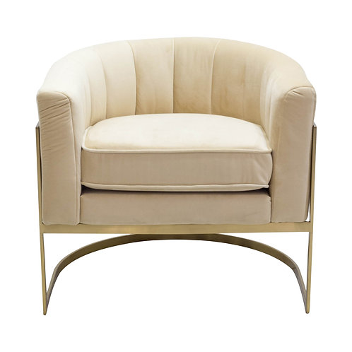 Champagne Catherine Chairs - Set of 2