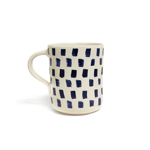 Indigo Coffee Mugs - Set of 4