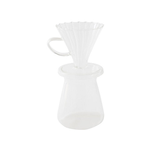 Glass Pour Over Coffee Set