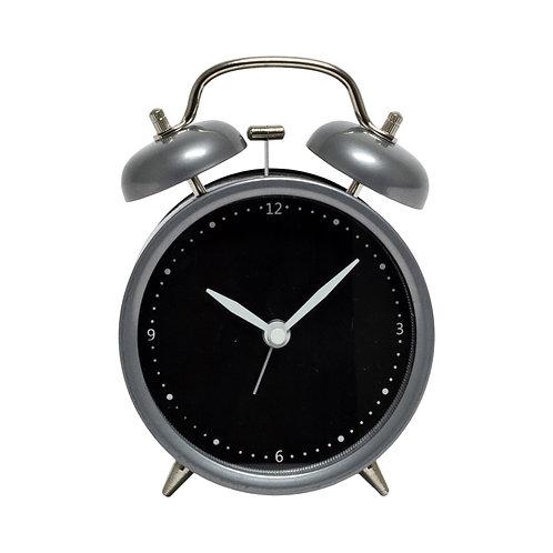 Gray & Black Alarm Clock