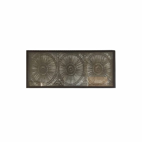 Brown Rice Paper Wall Art