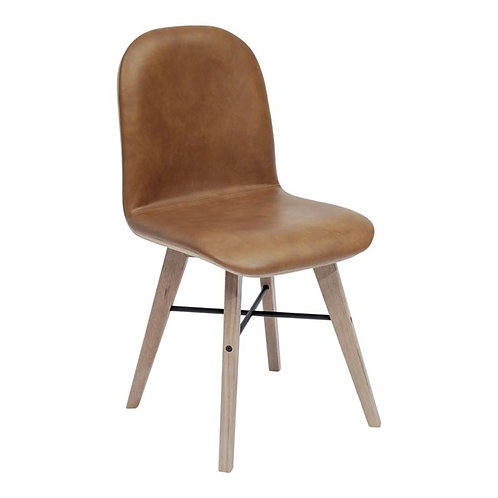Napoli Leather Dining Chairs - Set of 6