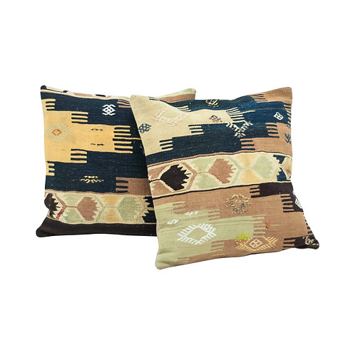 Large Kilim Pillows - Set of 2