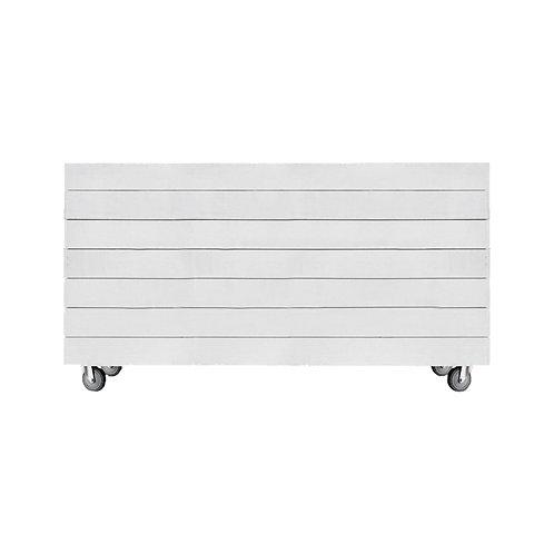 White Mobile Shiplap Bar