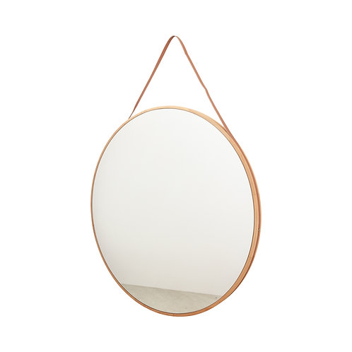 West Elm Round Hanging Mirror