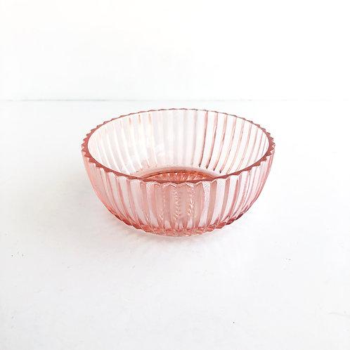 Pink Depression Glass Bowl #6
