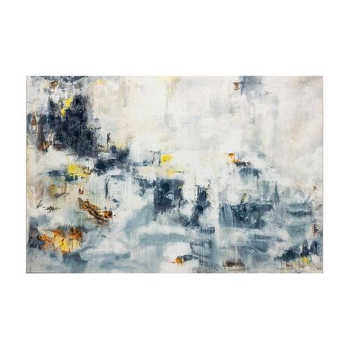 Abstract Moody Ocean Canvas - 40x60