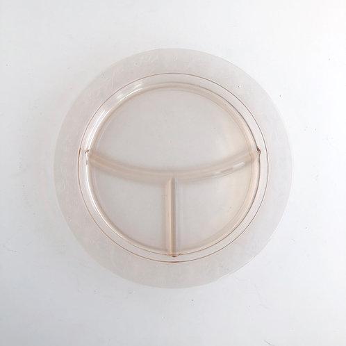 Pink Depression Glass Platter #4
